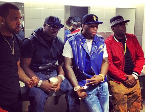 I'm All Turnt Up (Freestyle) (2011) G-Unit diss? 50 Cent