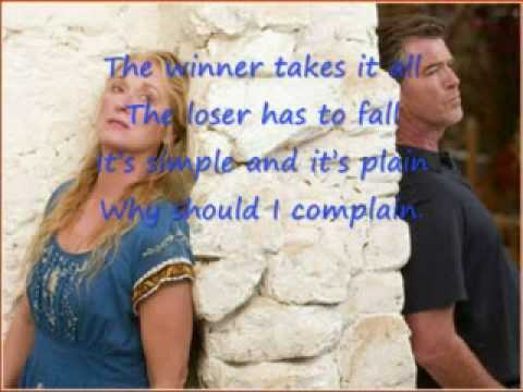 Mamma Mia! The Movie - The Winner Takes It All (subtitulos en español)