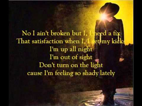Adam Lambert - Shady (lyrics)