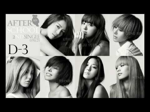 After School - Because Of You instrumental (w/ Lyrics)