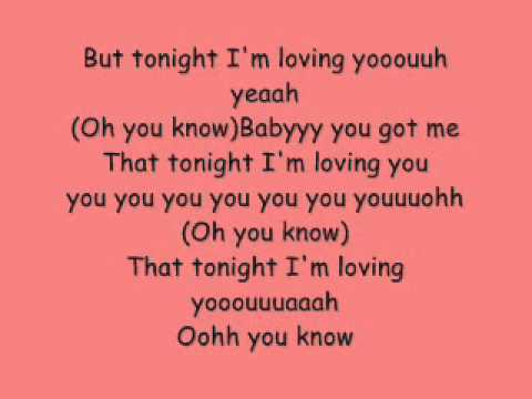 Conor Maynard Ft. Anth Tonight I'm lovin you Lyrics