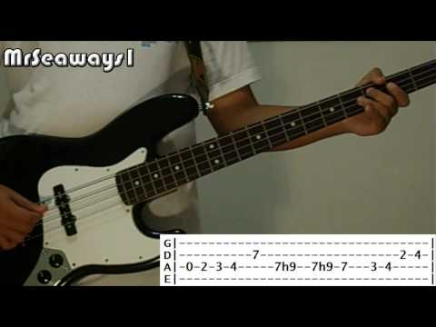 The Beatles Oh Darling bass lesson & cover