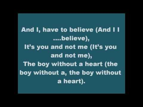 Boy Without A Heart-JoJo (With Lyrics)