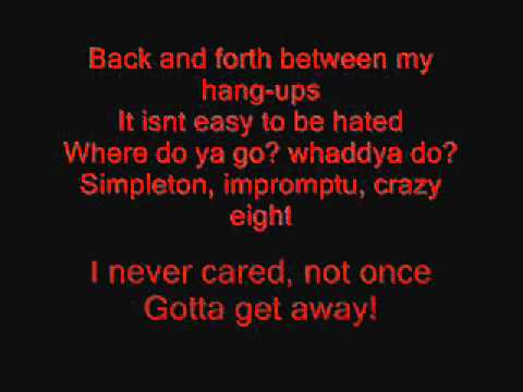 Slipknot - Me Inside Lyrics