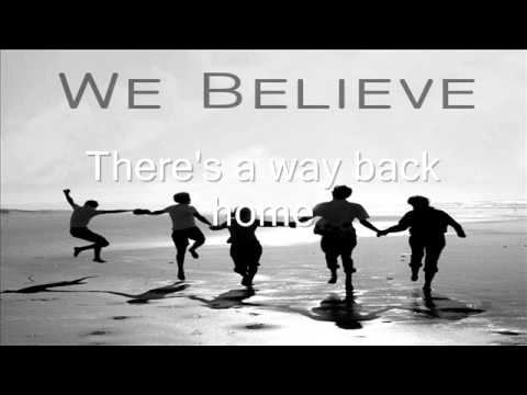 We Believe - David Cook (Offical lyric).wmv