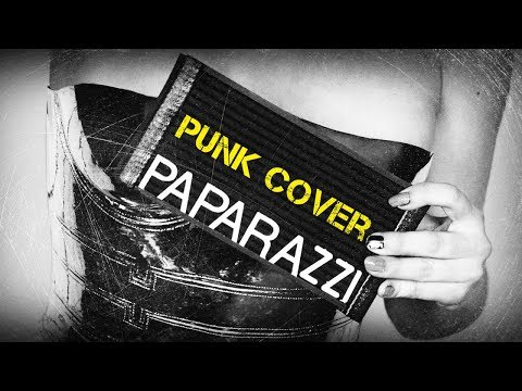 Lady Gaga - Paparazzi (pop punk cover)