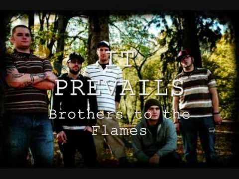 It prevails - brothers to the flames LYRICS on screen