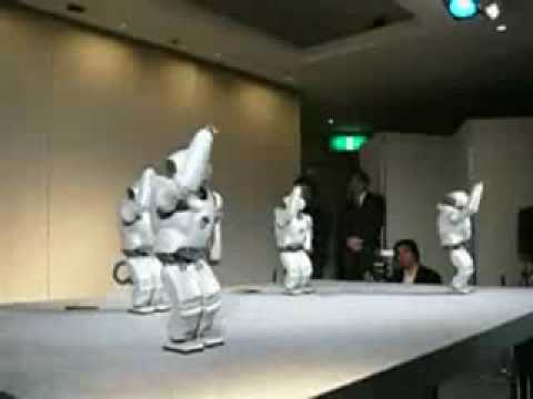 Robots Dance to Allison Iraheta's