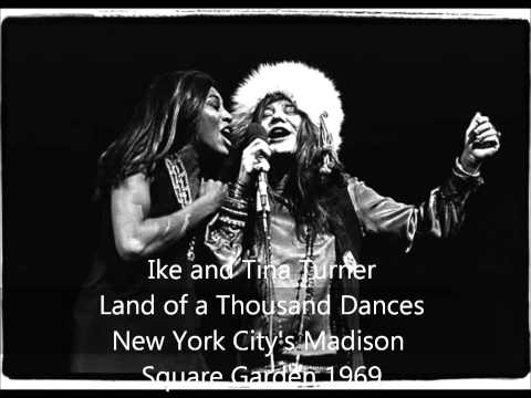 Ike and Tina Turner-Land of a Thousand Dances-New York City's Madison Square Garden 1969