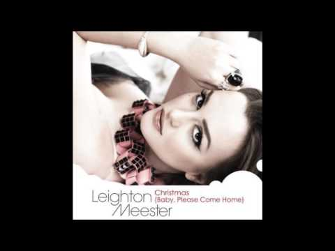 Leighton Meester  Christmas(Baby,Please Come Home) with Lyrics